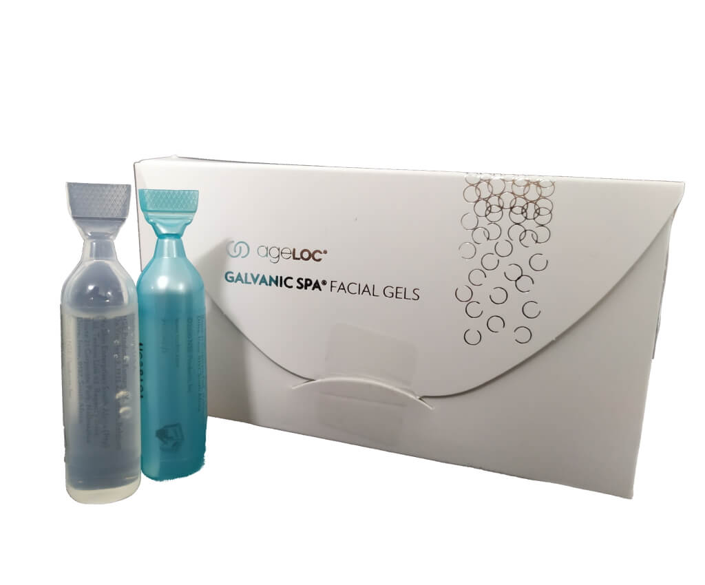 Galvanic Spa System Facial Gels with ageLOC 8 x 4 ml