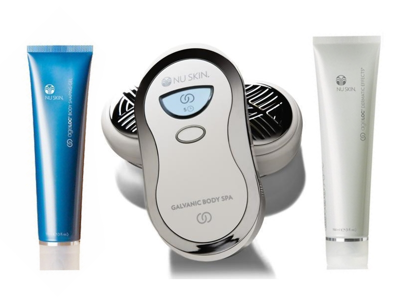 galvanic body spa how to use