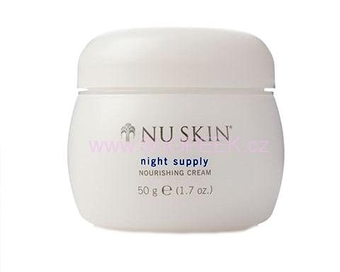 Omlazující noční krém NuSkin Night Supply Nourishing Cream 50 ml