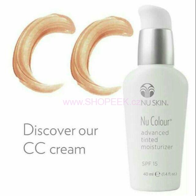 Nuskin Nu Colour Advanced Tinted Moisturizer SPF 15 Medium Beige - CC krém 40 ml