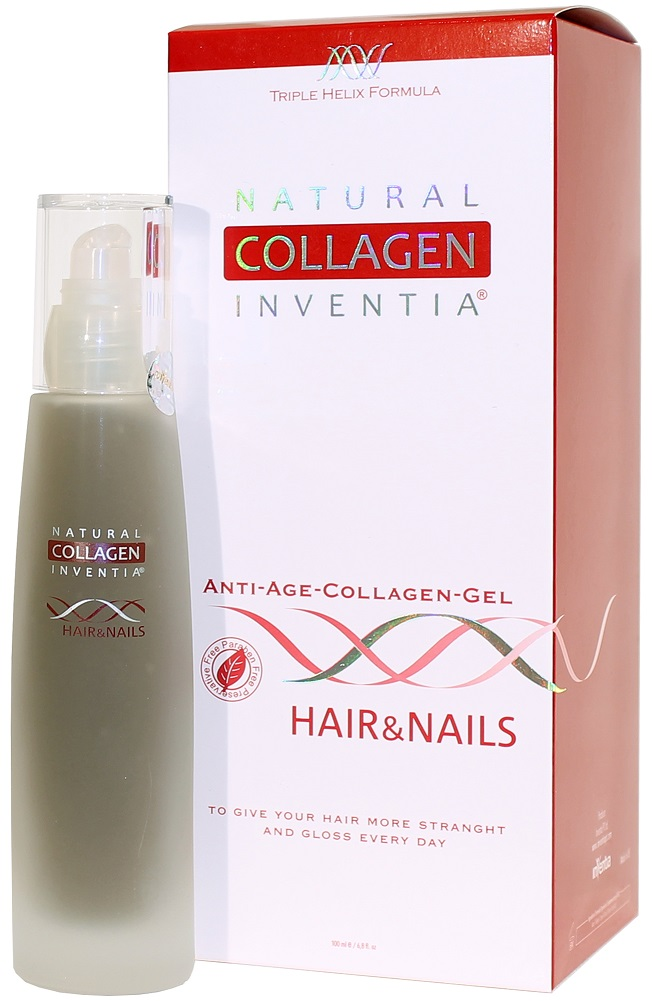 Inventia Hair & Nails na VLASY A NEHTY Triple Helix Formula 100 ml